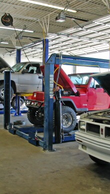 Piedmont Truck Tires and Automotive Service Centers provide  auto repair services for personal vehicles, company cars, pickup trucks, SUVs, vans, or buses