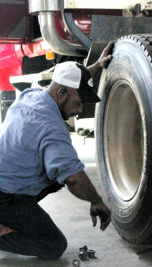 We sometimes have needs for auto mechanics, truck mechanics, sales people, service managers, and tire service technicians