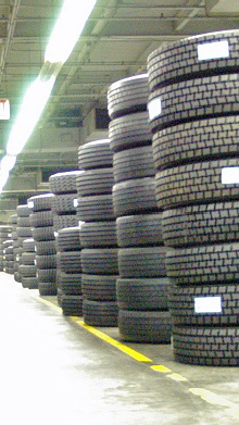 Tire storage available for fleets  in Greensboro, NC, Charlotte, NC, Graham, NC, Raleigh, NC, Greensboro, NC, Warsaw, NC, Summerville, SC, Columbia, SC & Murfreesboro, TN