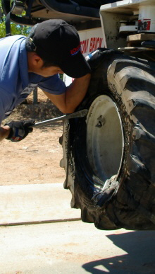 On Site Servicing Of Farm And Equipment Tires In Nc Sc And Va
