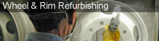 We can repair and refurbish wheels and rims for all types of vehicles
