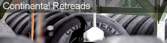 We can get you back on the road with the ContiTread retread process